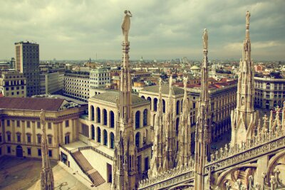 Obraz Milán, Itálie.
