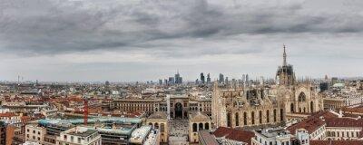 Obraz Milano panoramica