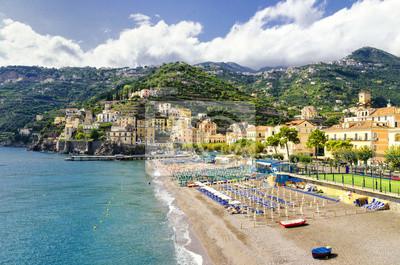 Minori na pobřeží Amalfi