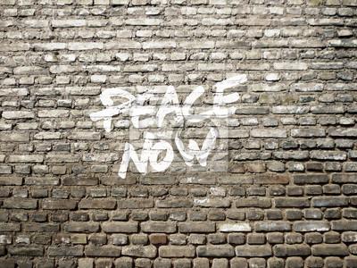 Mír nyní graffiti