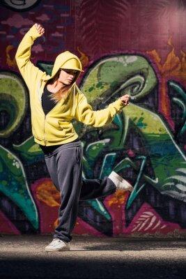 Obraz Mladá žena tanečnice