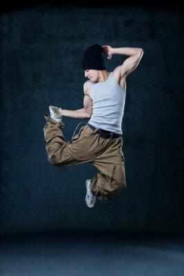 Obraz Mladí hip-hop tanečnice na lyžích