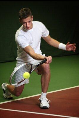 Obraz Mladý muž hrající tenis