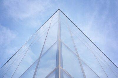Obraz Modern office building detail, glass surface