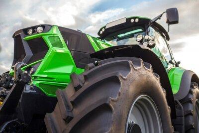 Obraz Moderní moderní traktor