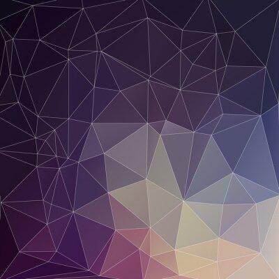 Obraz Mosaik Hintergrund Polygon