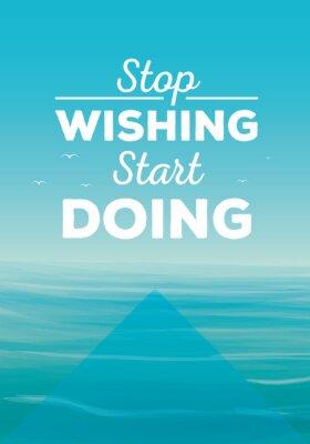 Obraz Motivation quote