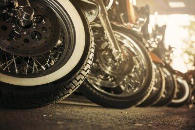 Obraz Motocykly v řadě