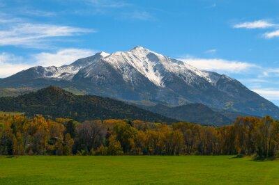 Obraz Mount Sopris Elk Mountains Colorado - Barvy podzimu