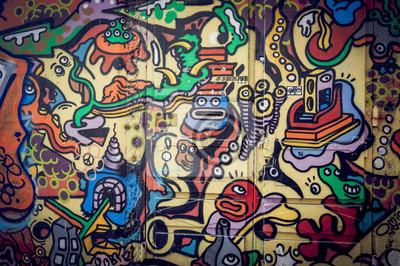 Obraz Mur de graffiti