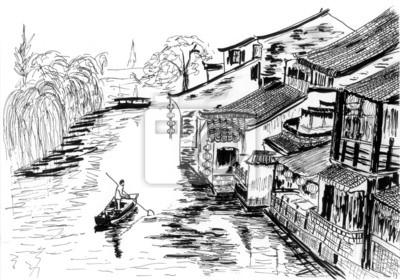 Načrtněte River Village Wuzhen