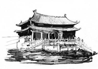 načrtnout Čína Peking Zakázané město