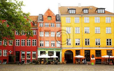 Náměstí v Kodani.