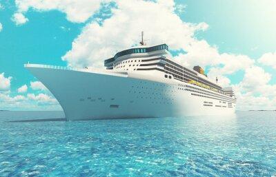 Obraz Nave da Crociera v mare vacanza