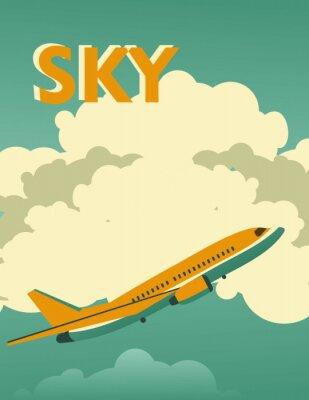 Obraz Nebe ročník plakát