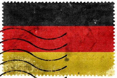 Obraz Německo Flag - starý poštovní známka
