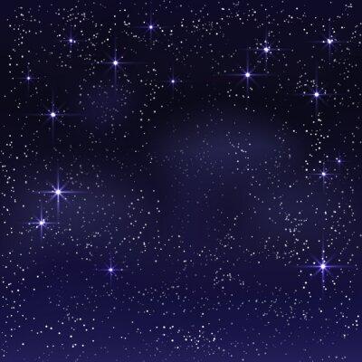 Obraz Noční hvězdné nebe