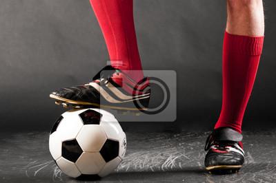 nohy fotbalista