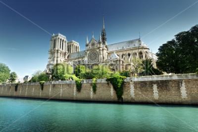 Obraz Notre Dame Paříž, Francie
