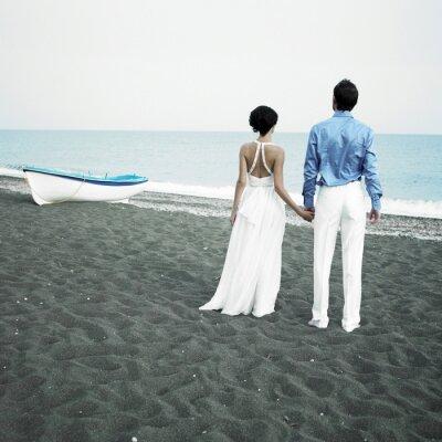 Obraz Novomanželé na moři