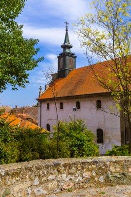 Old town in Novi Sad - Serbia