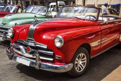 Obraz Oldtimer im Zentrum von Havana