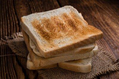 Obraz Opečený toastový chléb