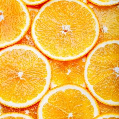 Obraz Orange plátky pozadí