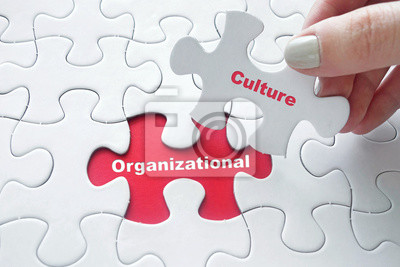Obraz Organizační kultura na puzzle