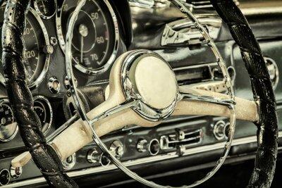 Obraz Palubní deska klasické auto