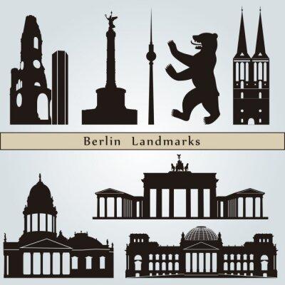 Obraz Památky a památky v Berlíně