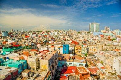 Obraz Panorama Havana městské čtvrti Vedado