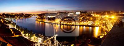 Panorama Porto, Portugalsko.