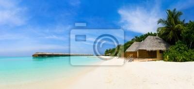 Panorama tropické pláže