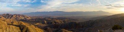 Obraz Panoramatický pohled na pouštní krajiny