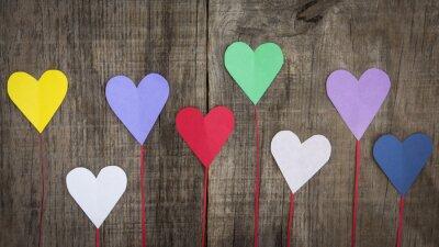 Obraz Papírové srdce