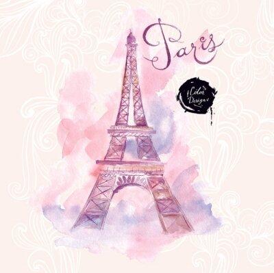 Obraz Paříž.