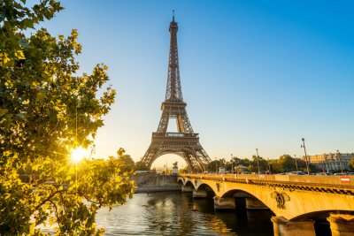 Obraz Paříž Eiffelova věž Eiffelova věž Tour Eiffel