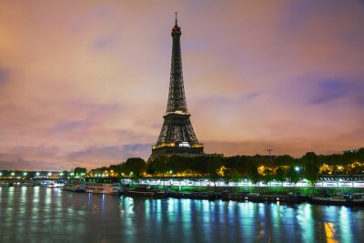 Obraz Paříž panoráma města s Eiffelovou věží