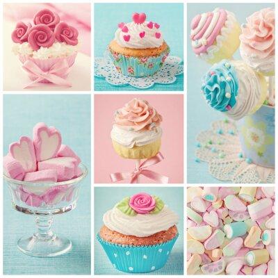 Obraz Pastelové barevné sladkosti