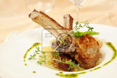 Pečené skopové maso