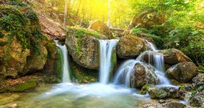 Obraz Pěkný vodopád