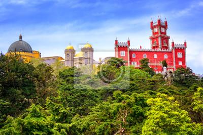 Pena palác, Sintra, Portugalsko