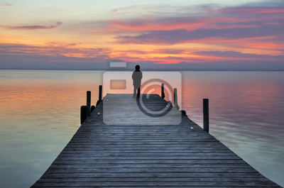 Obraz Pensando en soledad