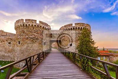 Pevnosti Kalemegdan Bělehrad - Srbsko