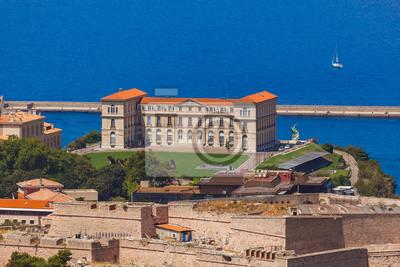 Pharo palác - Marseille Francie