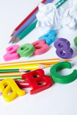 Obraz Plastové abecedy