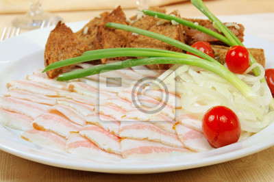 Plátky slaniny