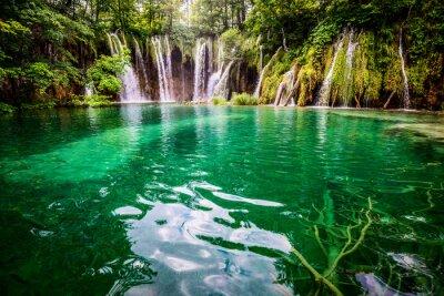 Obraz Plitvická jezera národní park Chorvatsko