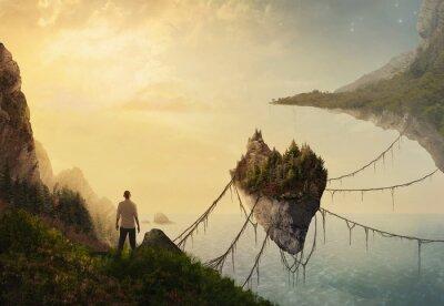 Obraz Plovoucí ostrovy